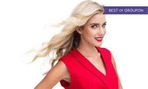 Fusion Salon: Haircut and Style with Choice of Partial or Full Highlights or Color Retouch at Fusion Salon (Up to 57% Off)
