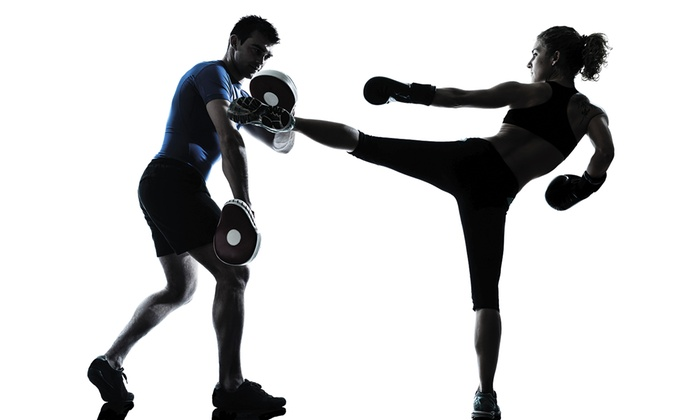 All Star Martial Arts - Chester: 4 or 10 Kickboxing Classes with Free Personal-Training Session and Gloves All Star Martial Arts (Up to 74% Off)