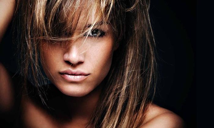 Moxie Blowdry & Beauty Bar - Moxie Blow Dry Bar: Haircut, Wash, and Blowout at Moxie Blowdry & Beauty Bar (Up to 79% Off)
