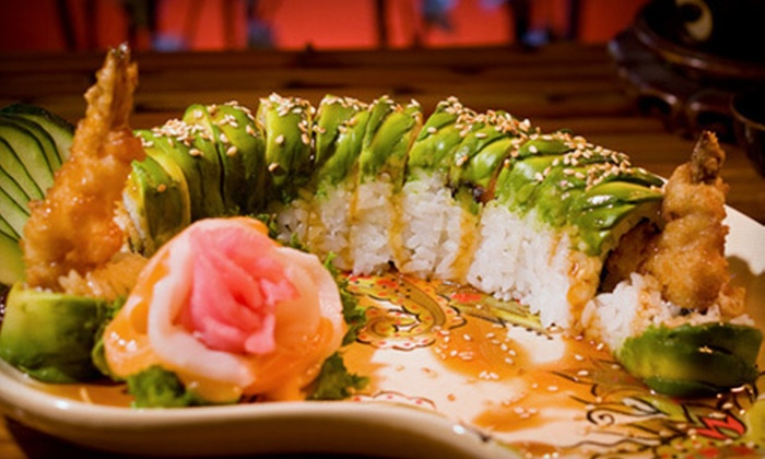 Tokyo Sushi - Oakland Park: Sushi and Hibachi Cuisine at Tokyo Sushi (Up to 53% Off). Two Options Available.