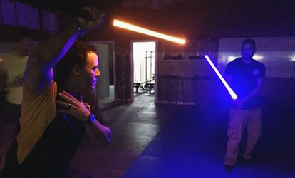 image for Two Jedi Lightsaber Classes for One or Two Kids or Adults at Miami Jedi Academy (Up to 51% Off)