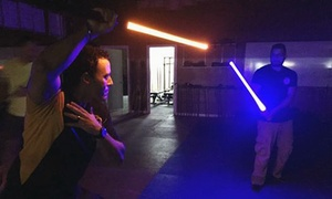 Miami Jedi Academy: Two Jedi Lightsaber Classes for One or Two Kids or Adults at Miami Jedi Academy (Up to 51% Off)