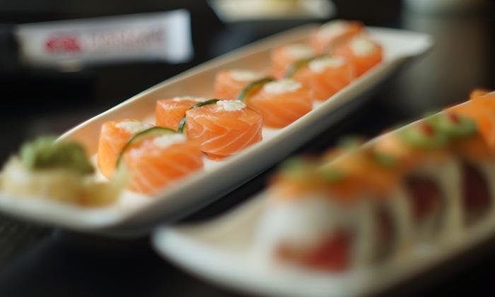 Hanami Sushi Teppan Bar - Bedford: Up to 45% Off Japanese Cuisine at Hanami