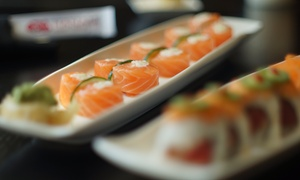Hanami Sushi Teppan Bar: Up to 45% Off Japanese Cuisine at Hanami