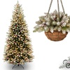Frosted Dunhill Fir Holiday Decoration