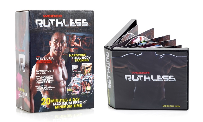 Weider Ruthless Exercise DVD Kit
