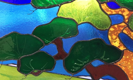 Weekend Stained-Glass, Fused-Glass, or Mosaic Workshop for One or Two at The Art of Glass (Up to 50% Off)