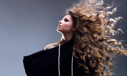 Cut and Color Services at Merle Norman Hair Salon (Up to 56% Off). Five Options Available.