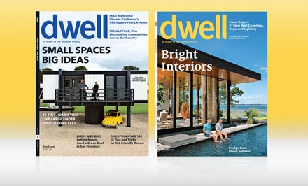 1- or 2-Year Dwell Magazine Subscription; from $10–$16