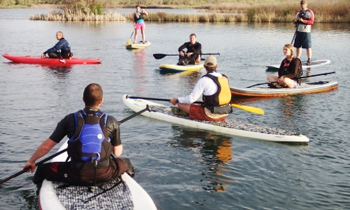 Renaissance Adventure Guides, LLC - Sedalia: Standup-Paddleboarding Lesson for One or Two from Renaissance Adventure Guides, LLC (Up to 53% Off)