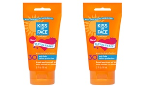 Kiss My Face Tattoo Shade SPF 30 Lotion 2-Pack : Kiss My Face Tattoo Shade SPF 30 Lotion 2-Pack