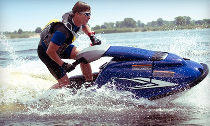 Extreme Jetski School - Sarasota: $89 for Standup Jet-Ski Lesson with One Hour of Free Play at Extreme Jetski School in Sarasota ($299 Value)