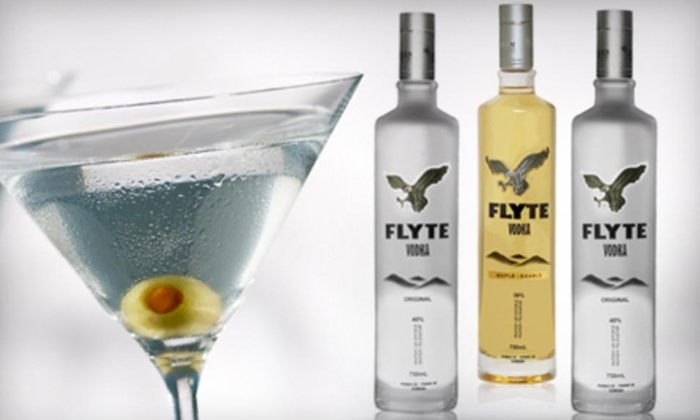 Flyte Vodka - Downtown - Penn Quarter - Chinatown: One or Three 750 mL Bottles of Regular or one bottle of Maple Vodka from Flyte Vodka at Central Liquors (Up to 50% Off)