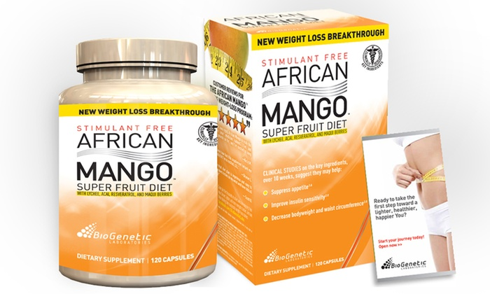 Biogenetic Labs African Mango Super Fruit Diet: Biogenetic LabsAfrican Mango Super Fruit Diet Supplements