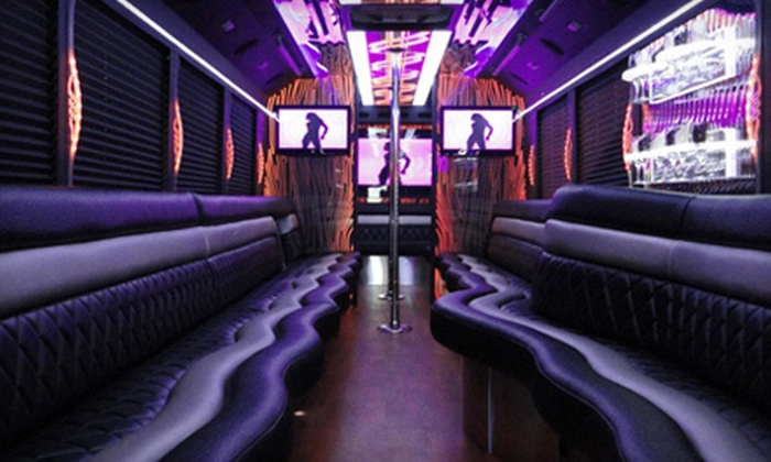 MAC Transportation and Tours, LLC - Depew: Three- or Five-Hour Luxury Limo-Bus Ride for Up to 10 or 20 from MAC Transportation and Tours, LLC (Up to 65% Off)