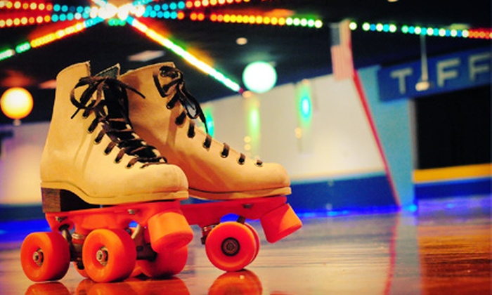 Skate Tiffany's! Roller Skating & Family Fun Center - Puyallup: Roller Skating Packages or a Kids' Birthday Party at Skate Tiffany's! Roller Skating & Family Fun Center (Up to 52% Off)