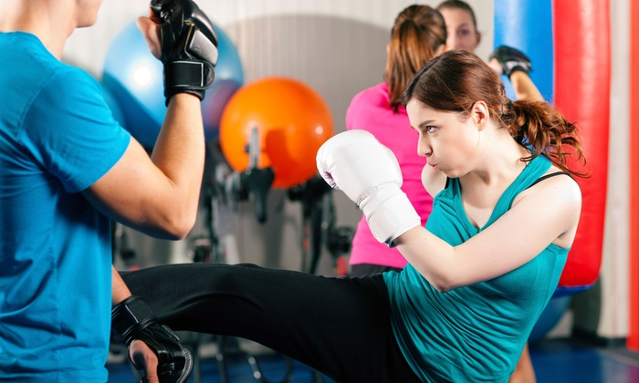 Cerius Fitness at Combat Zone MMA - Park Manor: Four or Eight 60-Minute Personal-Training Sessions at Cerius Fitness at Combat Zone MMA (Up to 58% Off)