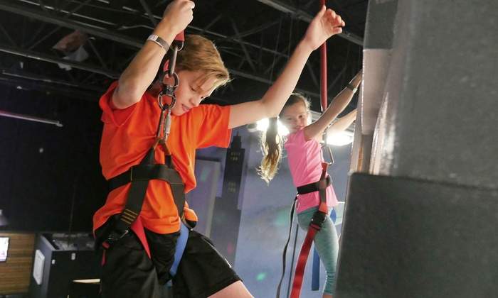 Urban Jungle Fun Park - Santee: Passes and Playtime at Urban Jungle Fun Park (Up to 40% Off). Seven Options Available.