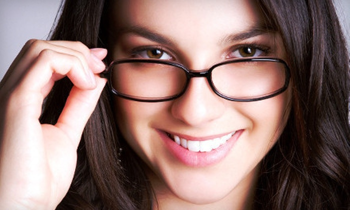 Professional Eyecare Centers - Multiple Locations: $40 for an Eye Exam and $100 Toward Frames and Lenses at Professional Eyecare Centers ($255 Value)
