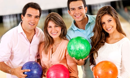 Two-Hour Bowling Outing for Two, Four, or Six with Appetizer at J.D. Legends (Up to 61% Off)