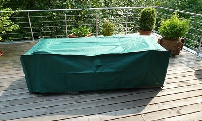 Housse de protection mobilier groupon shopping for Protection meuble de jardin