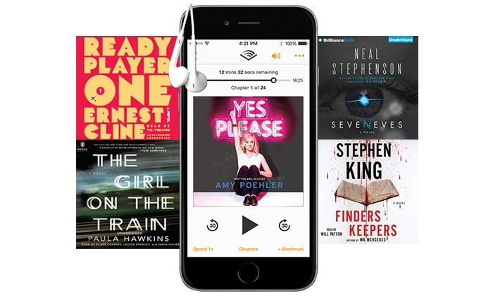 Audible: 1.95 Per Month for First Three Months of Audible Membership ($44.85 Value)