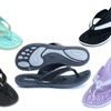 Cheeks by Tony Little Women's Memory-Foam Sandals