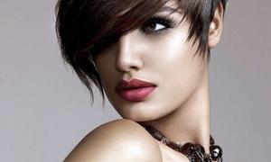 Aesthetic Beauty Salon: A Women's Haircut with Shampoo and Style from Aesthetic Beauty Salon (50% Off)