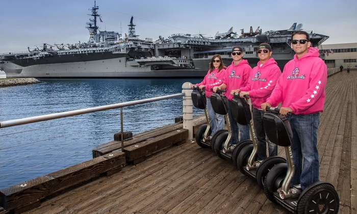 We Love Tourists - Multiple Locations: Two-Hour Segway Tour of La Jolla or Gaslamp Harbor from We Love Tourists (63% Off)