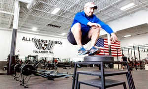 Allegiance Fitness: One-Month Charlie, Bravo, or CrossFit Membership at Allegiance Fitness (Up to 68% Off)