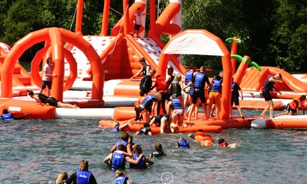 50-Minute Aqua Park Session with Wet Suit Hire for Up to Four at Lagoona Aqua Park (Up to 25% Off)