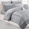 Quilted Comforter Set with Sheets. Multiple Styles Available (10-Pc.)