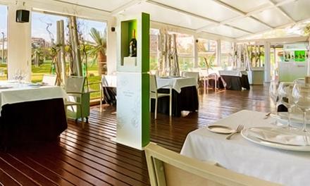 Menú degustación para dos  en el restaurante Fábula de Golf Canal por 49 € y con botella de champán por 79 €