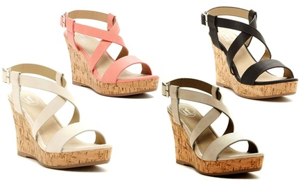 Carrini Women's Wedge Sandals