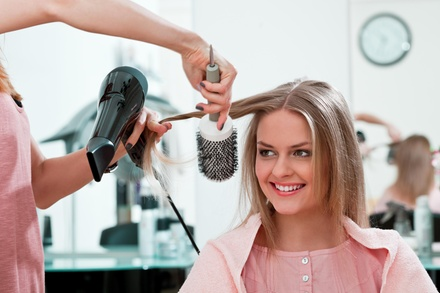 Haircut, Highlights, and Style from Mccarty Salon  Heather Holmes (55% Off)
