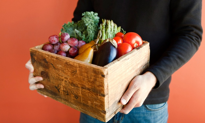 Space Girl Organics - Melbourne: $29 for Organic Produce-Box Delivery and Delivery-Service Registration ($47 Value)