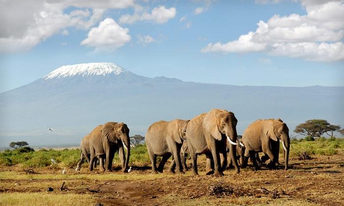 African Safari with Airfare - Keekorok Lodge: 10- or 11-Day African Safari with Round-Trip Airfare from Africa Answers