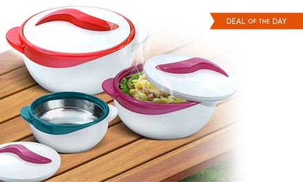 6-Piece Hot or Cold Serving Bowl Set