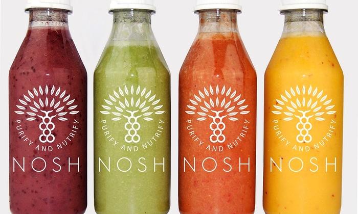Nosh Detox - Arlington: $97 for $195 Worth of 3 Day Raw Juice Cleanse at Nosh Detox