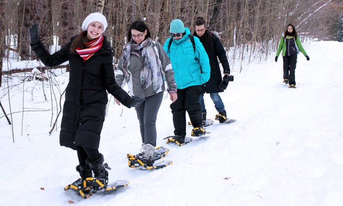 Toronto Adventures - Toronto (GTA): City Snowshoeing Tour or Adventure Bus-Trip Snowshoeing Tour from Toronto Adventures (Up to 52% Off)