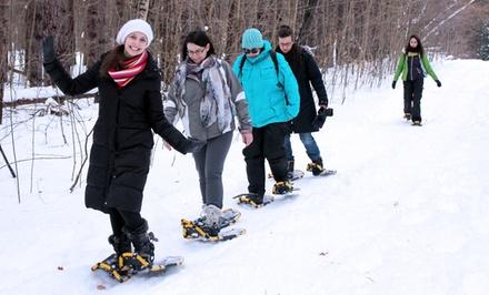 City Snowshoeing Tour or Adventure Bus-Trip Snowshoeing Tour from Toronto Adventures (Up to 52% Off)