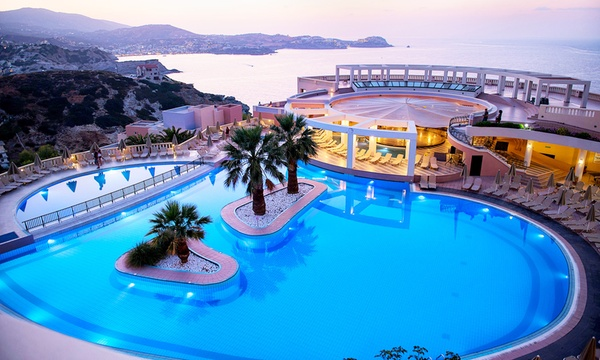 Crete: 5 or 7 Night 5* Hotel Stay With All Inclusive and Flights from £299  Per Person*