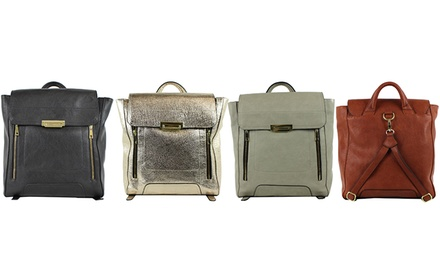 Emilie M. Vintage-Inspired Backpack