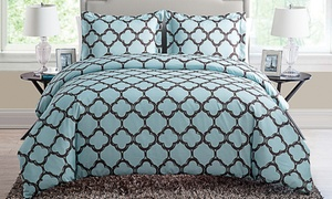 Galaxy Quatrefoil Print Duvet Cover Set (2- or 3-Piece) at Galaxy Quatrefoil Print Duvet Cover Set (2- or 3-Piece), plus 9.0% Cash Back from Ebates.