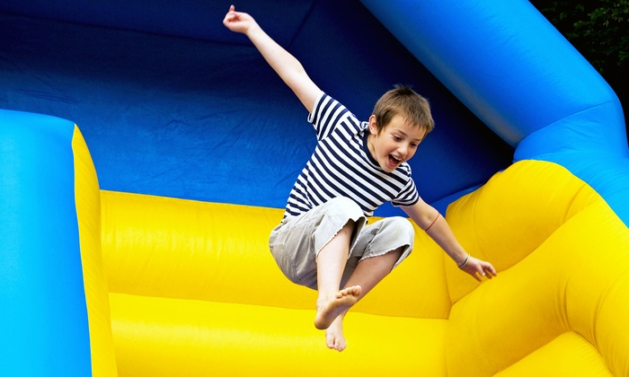 Lone Star Bounce Town - Pearland: 5, 10, or 15 Kids' Bounce-House Sessions at Lone Star Bounce Town (Up to 60% Off)