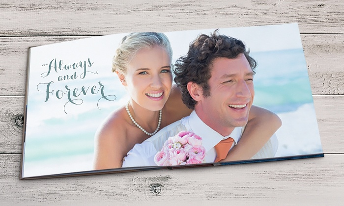 Picaboo: Custom Seamless Lay-Flat Photo Books from Picaboo (Up to 64% Off). Three Options Available.