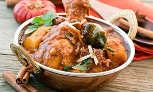 Taz Indian Restaurant: $16 for $25 Worth of Indian Food at Taz Indian Restaurant