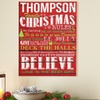 Personalized Christmas Canvases from Personal Creations