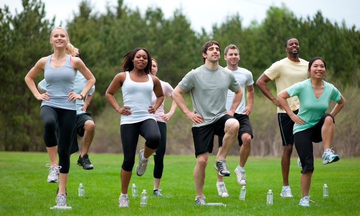 Fittnatics - Portgage Avenue Church: Up to 61% Off Boot camp at Fittnatics