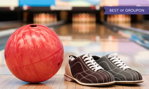 Imperial Bowl: Two-Hour Bowling Package for 5 or 10 with Shoe Rental and Pizza at Imperial Bowl (Up to66% Off)